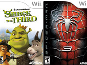 Coming soon: Activision's 'Shrek the Third' and 'Spider-Man 3' for Wii