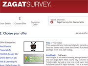 Don't want to shell out $24.95 for a subscription to Zagat.com? Just buy some cigars or a TiVo.