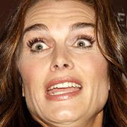 SHIELDS: Just look at those lush, drug-induced eyelashes.