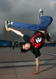 Dai-Biao's site lets fans of hip-hop and urban dance share music and photos.