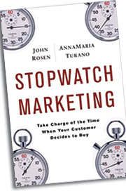 'Stopwatch Marketing' is on shelves today.
