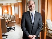 Scott Geraghty, area VP-general manager at the Central Park South Ritz-Carlton in New York.
