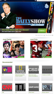 Joost's catalog can't compare to Hulu's.