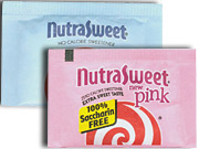 Though Nutrasweet may look like rivals, it's claiming to outdo them.