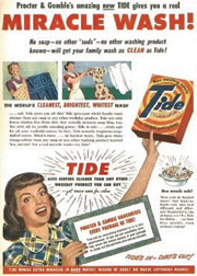 P&G's domination of the laundry business can be traced all the way back to the launch of Tide in the 1940s.