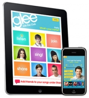 GLEEK DREAMS COME TRUE: 'Glee' app allows users to sing karaoke to songs from the show, then post to social nets.
