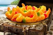 Panda Express' golden treasure shrimp.