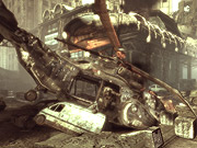 Getting in the game: The 'Raven Down' level of the Xbox game 'Gears of War' was sponsored by the Discovery Channel.
