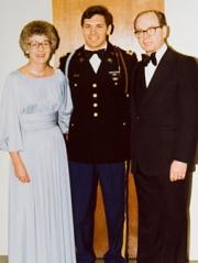P&G Chairman-CEO Bob McDonald, with his parents.