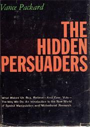 Packard's 1957 classic, 'The Hidden Persuaders.'