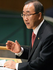 The week kicked off with a high-level gathering at the United Nations' New York headquarters featuring UN Secretary-General Ban Ki-moon.