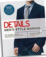 The 'Details Men's Style Manual was released last week.'