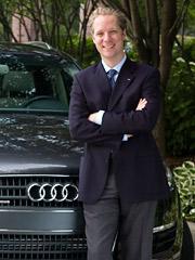 Scott Keogh, Audi's chief marketing officer