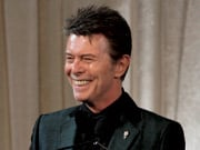 David Bowie had a little trouble limiting his Webby speech to five words.
