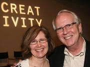 Take that, Crispin! Ogilvy's Nancy Vonk and Steve Hayden.