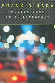 'Meditations in an Emergency'