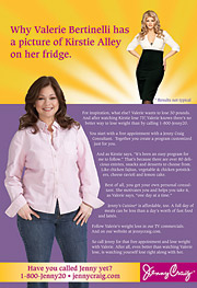 Initial ads: Kirstie Ally serves as mentor to Valerie Bertinelli