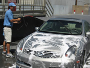 What a guy! Honda dealers washed cars to get on California consumers' good side.