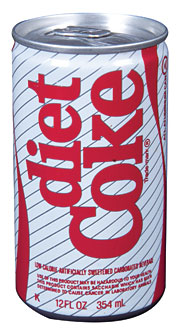 Diet Coke, called Coca-Cola Light in some markets, is sold in 173 countries around the world and has a 32% share of the global diet sparkling-beverage segment.