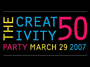 At the Creativity 50 party, the crowd and the venue did not disappoint.