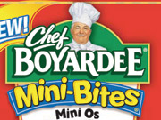 Chef Boyardee's Mini-Bites are a healthy step, but will parents or -- worse yet -- kids balk at what's in the can?