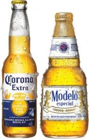 Corona and Modelo beer