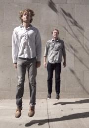 Matthew Woodhams-Roberts (left) and Dave Horton