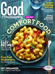 Good Housekeeping's March issue, the first since Jane Francisco assumed editorship