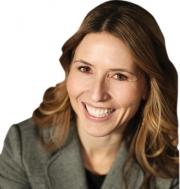 Holly Georgelos, marketing director, CorePower Yoga
