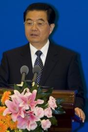 China's president, Hu Jintao