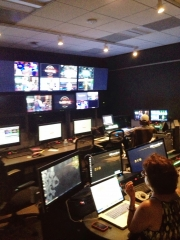 One of the studio's control rooms