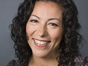 Iness Moskowitz, new VP of on-air promotions at MTV Networks' Spike TV.