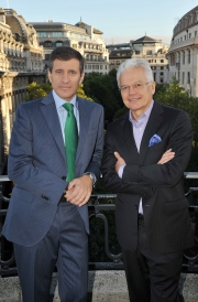 Gustavo Martinez and Bob Jeffrey