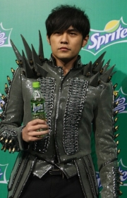 Jay Chou at the Spritea launch in China.