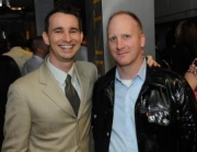 CCA's Mike Wilke (left) and Levi's Robert Cameron