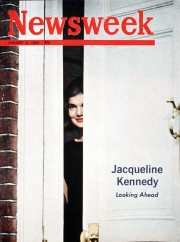 Jacqueline Kennedy on the cover of the Jan. 6, 1964, Newsweek