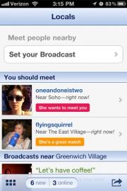 OKCupid's Locals app