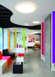 Every office should be this colorful.