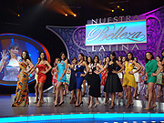 Dressed up: 'Nuestra Belleza Latina' is scoring points for Univision.