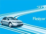 FlexCar ads promise a revolution in personal urban transport.