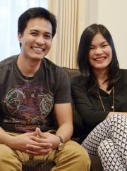EJ Galang and Katrina Encanto