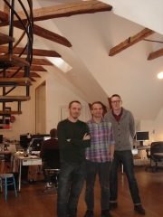B-Reel's Petter Westlund, Pelle Nilsson and Anders Wahlquist