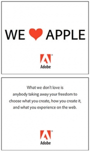 Adobe's response to Jobs' no Flash policy