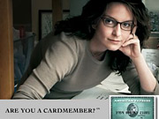 Tina Fey appears in new ads for American Express.
