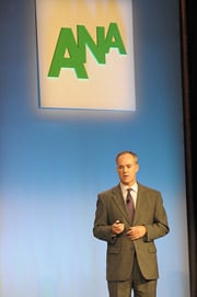 Walmart CMO Stephen Quinn at the ANA Annual Conference