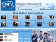 Aquafina is one of a number of giant marketers looking to reach a wide audience via MySpace.