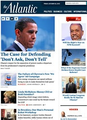 The Atlantic's website