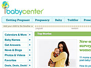 BabyCenter sells online-display advertising on its site and does customer-relationship marketing programs for its database of registered users for both J&J and other brands.