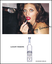 An ad from Berlin Cameron's 'Luxury Reborn' campaign.