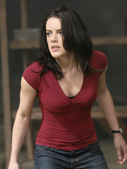 Michelle Ryan as Jaime Sommers, who is not bionically powered enough in this plodding remake of the '70s-era TV show.